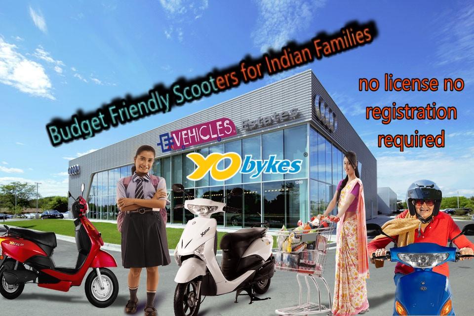 budget friendly scooters-yo bikes