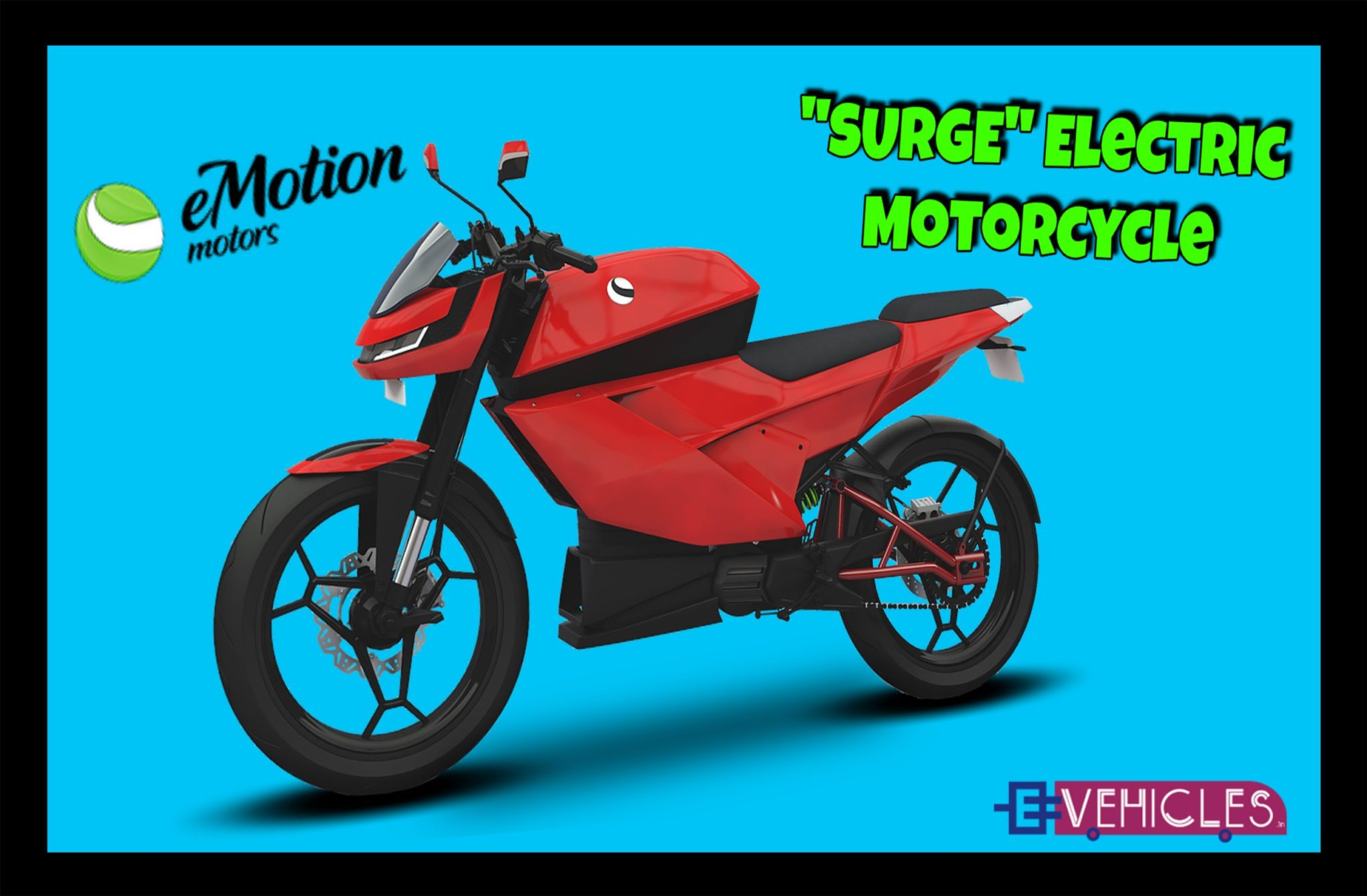 SURGE Electric Motorcycle From Emotion Motors