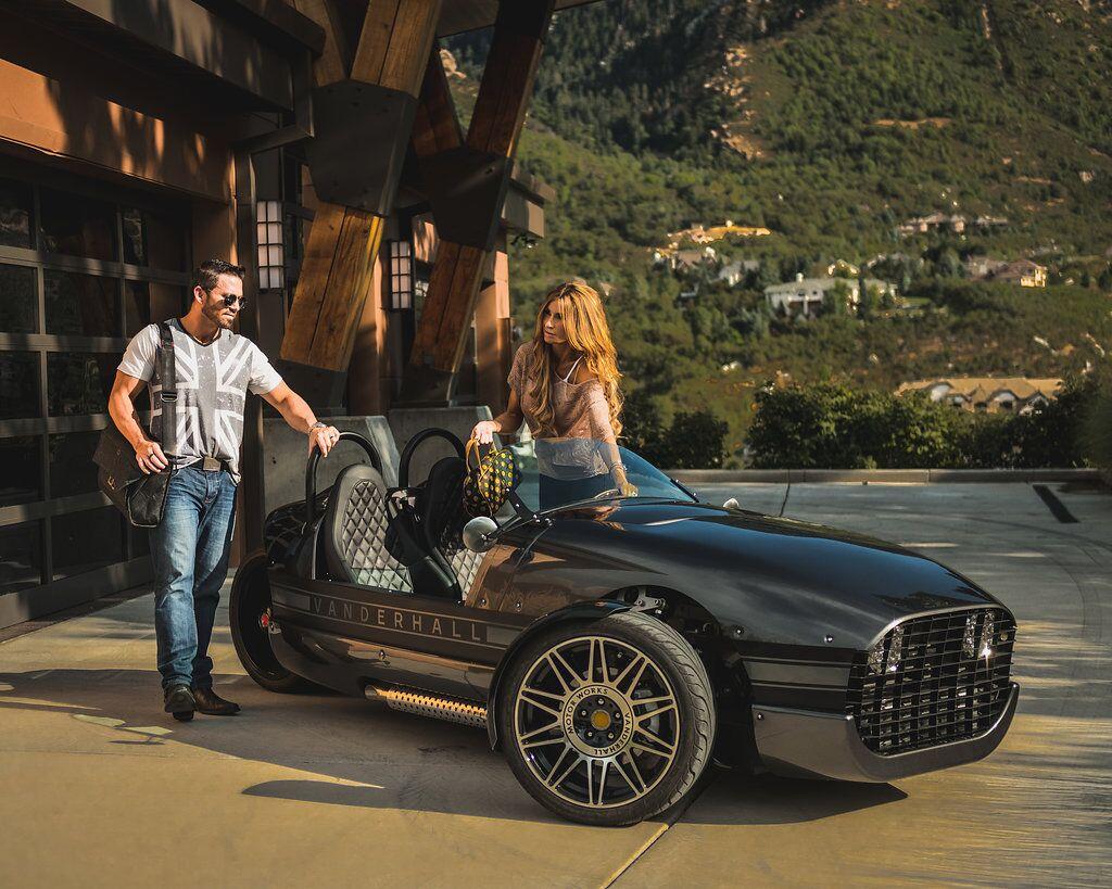 Best Electric Car for Romance-Vanderhall Venice E-Car - ElectricVehicles