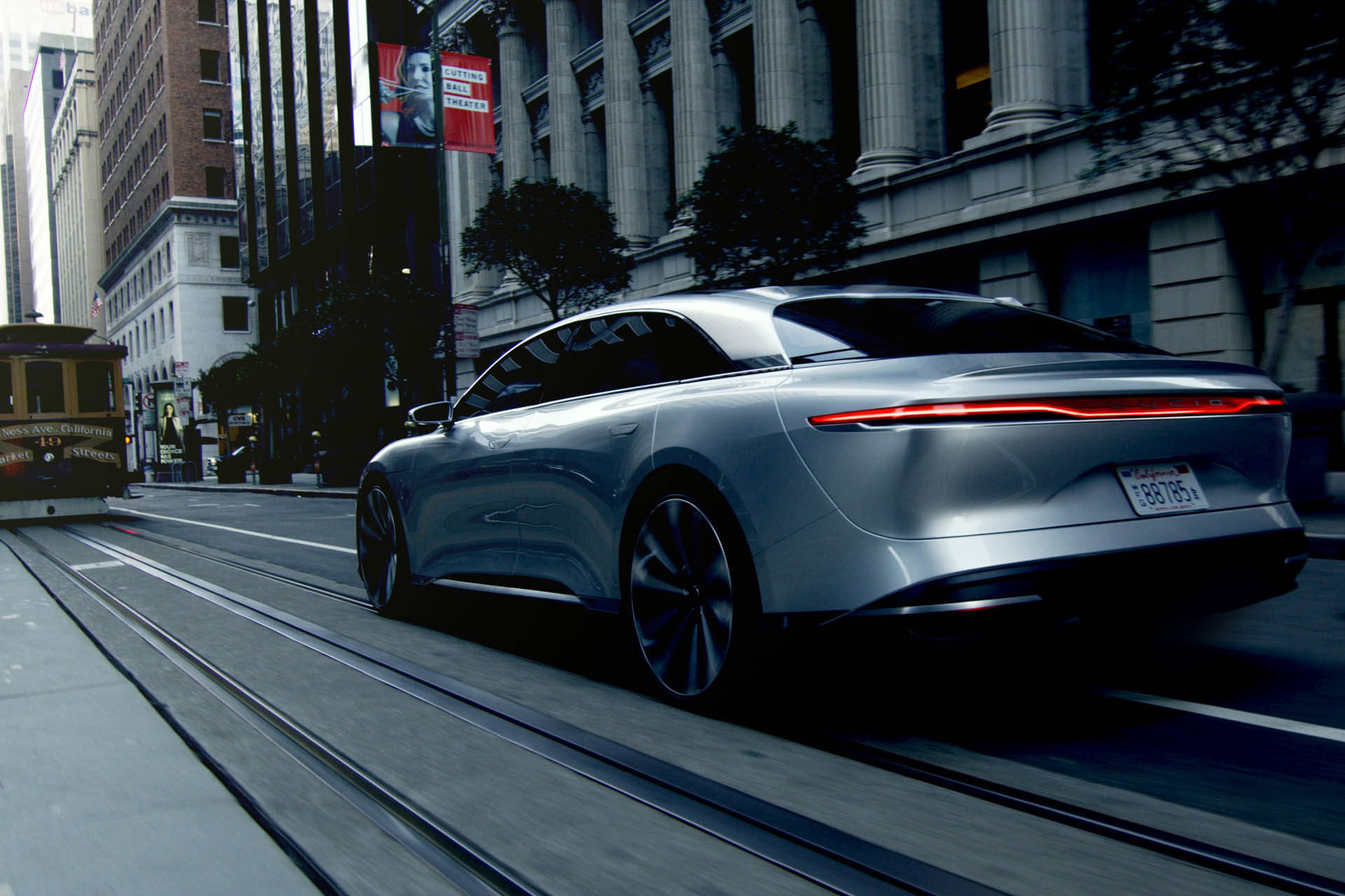 Electric Car with Human Emotions LUCID AIR-LUCID MOTORS ...