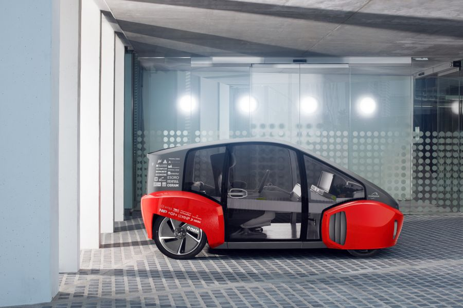 RINSPEED OASIS Concept Electric Car 5