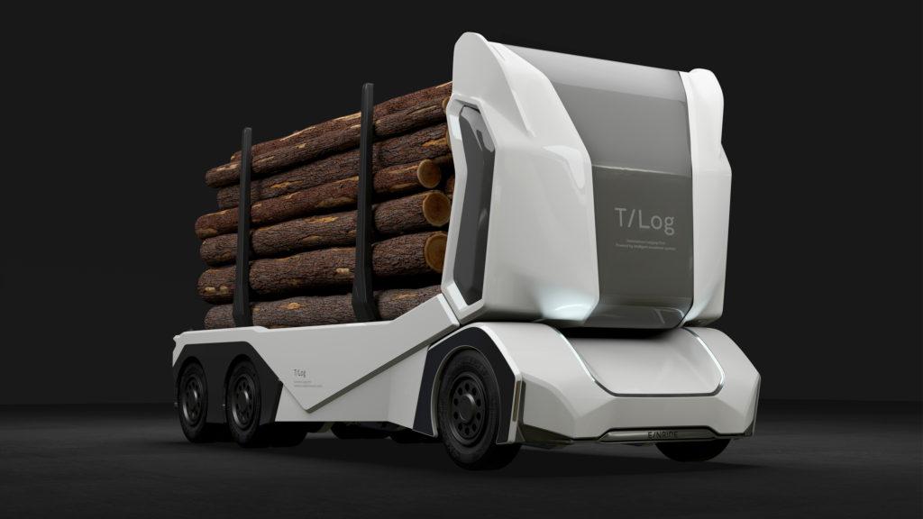 T-log electric truck