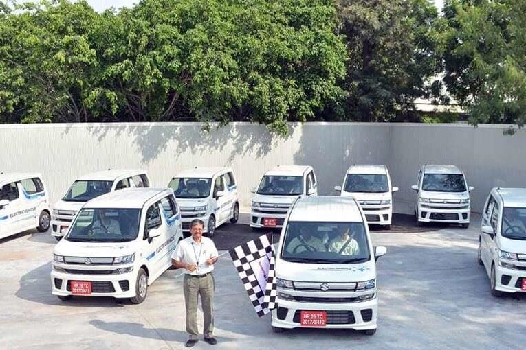 Maruti Suzuki Electric Vehicles Field Testing In India