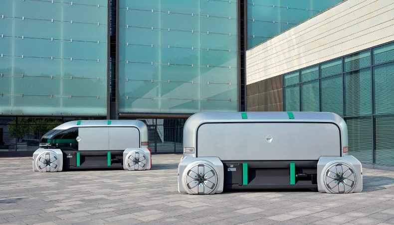 Renault Concept Electric Vehicle- EZ PRO
