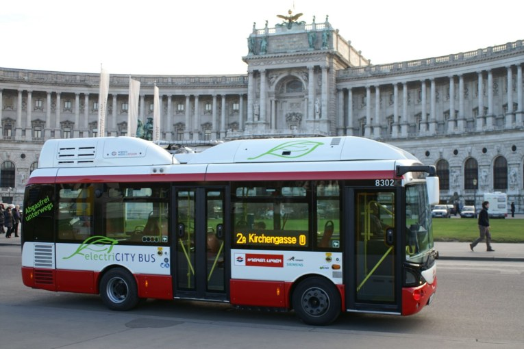 wiener linien electric bus