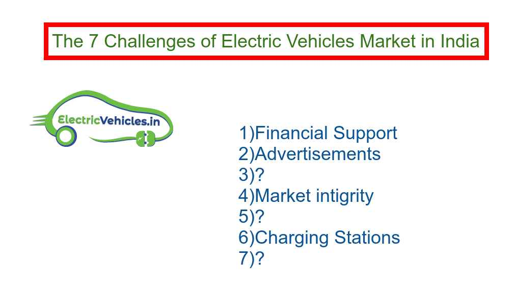 The 7 Challenges of Electric Vehicles Market in India