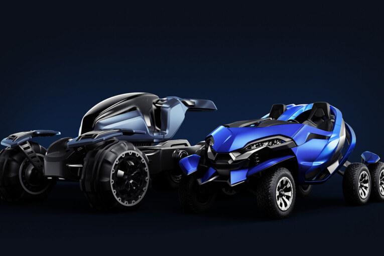 Ferox Azaris's Advanced off road Electric Vehicle