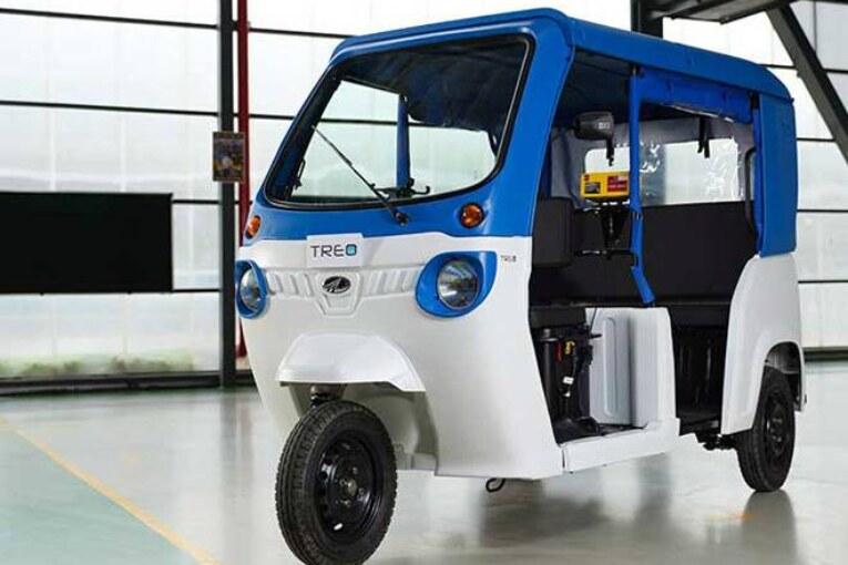 Mahindra TREO e-Auto