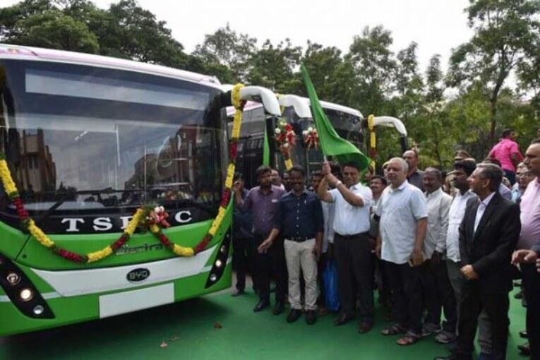 Telangana Luxury Electric Buses