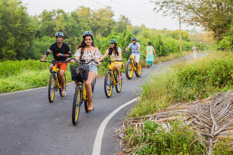 India's first e-Bike Tourism