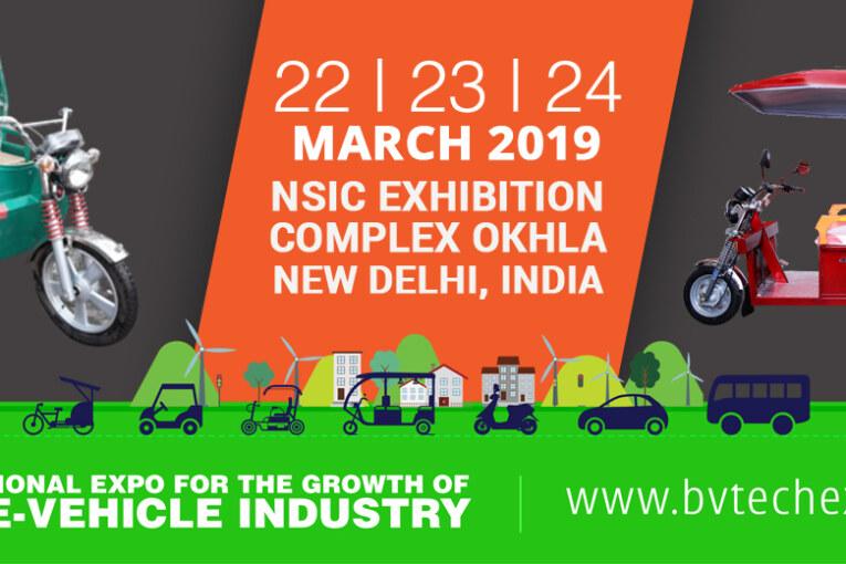 BV Tech & India E-Vehicle Show 2019