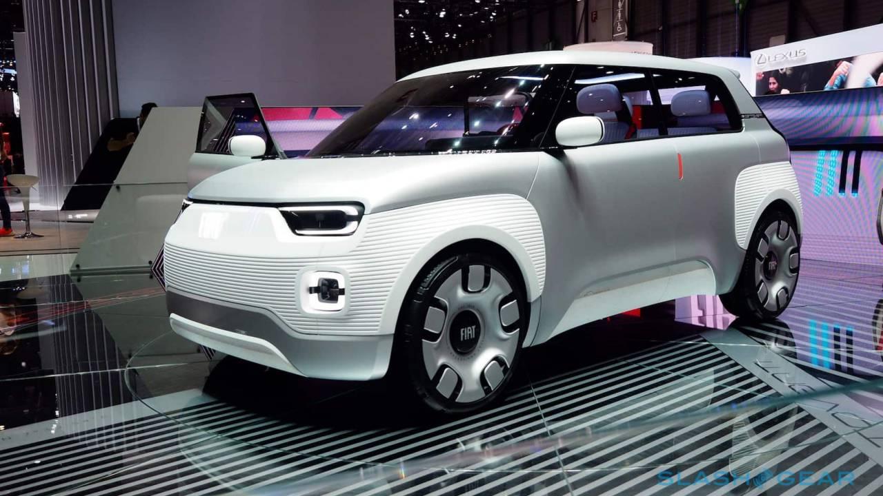 Concept EV Car-Fiat Centoventi, Reinvention Of Fiat's Panda