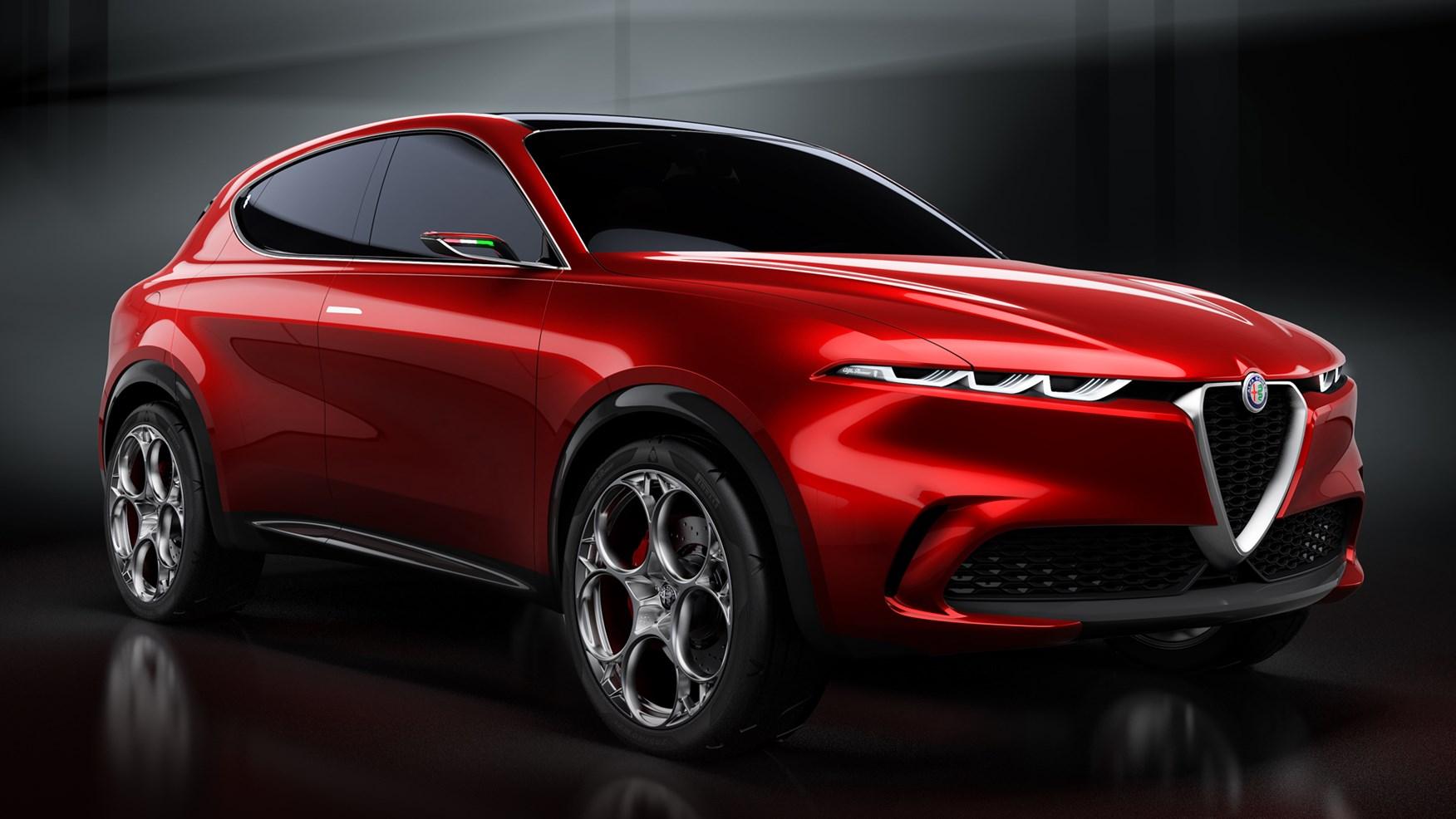 Hybrid SUV Car-Alfa Romeo Tonale