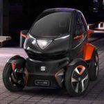 SEAT'S First Electric Car 'SEAT el-Born' At Geneva Motor Show