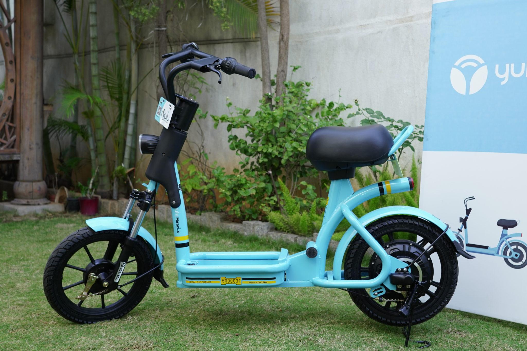 Bengaluru Startup-Yulu Electric Bike Sharing App