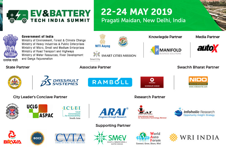 EV and Battery Tech India Summit 2019