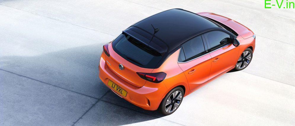 Electric car-Corsa-e
