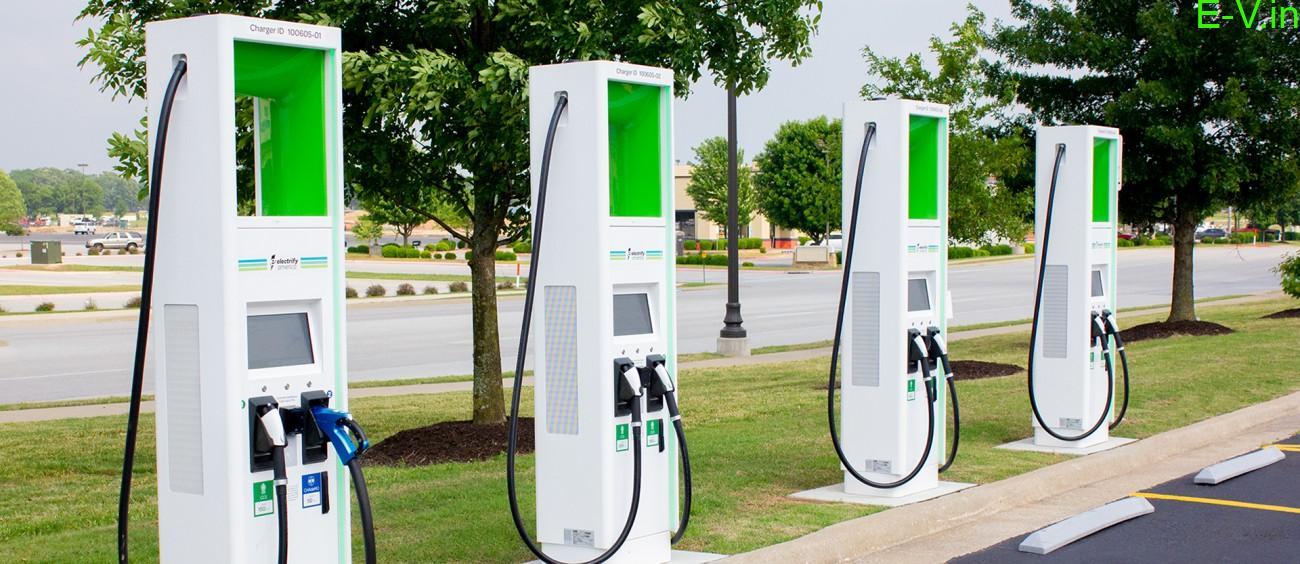 120 EV charging stations