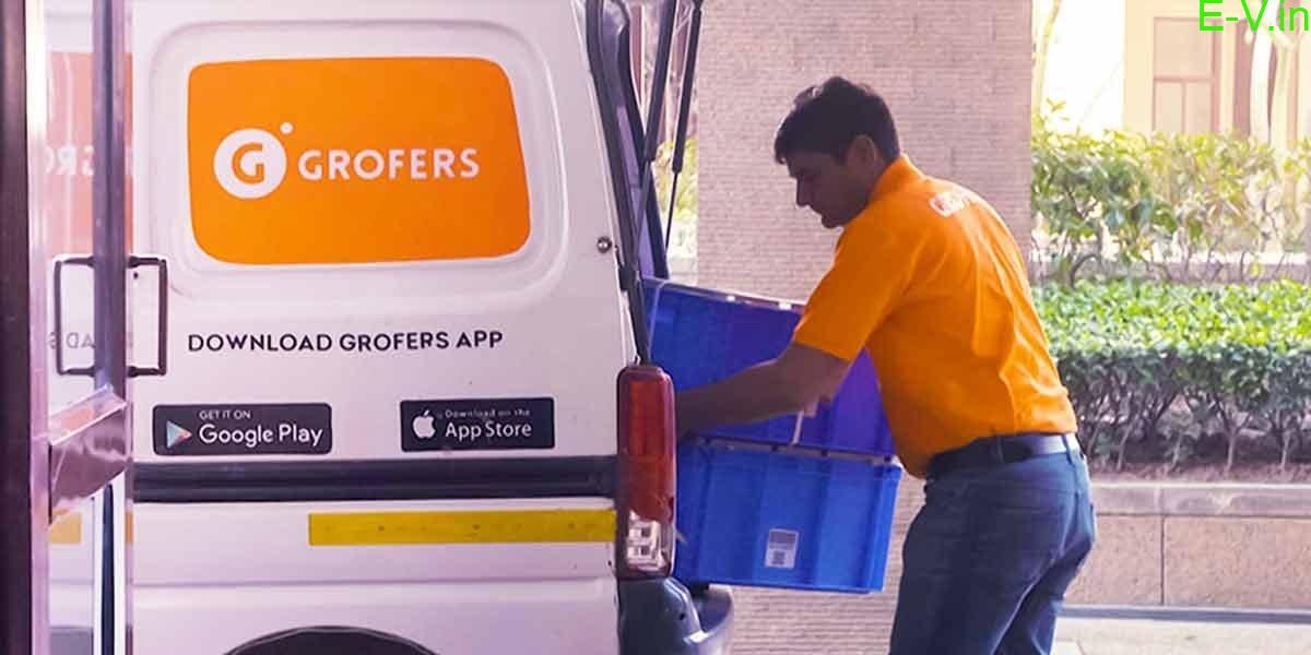 500 e-vans deployment by Grofers