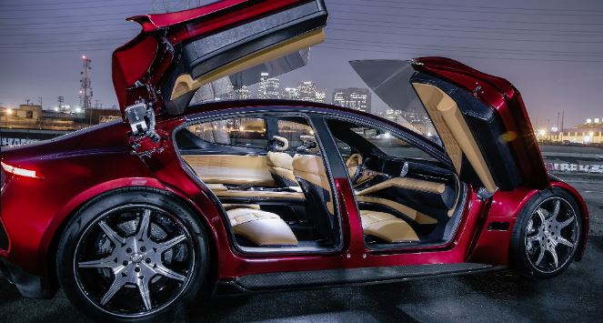 """Fisker unveiled electric SUV """"world's most sustainable vehicle"""""""