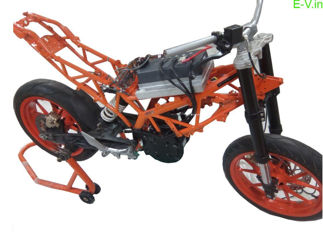 performance electric motorcycle Prana