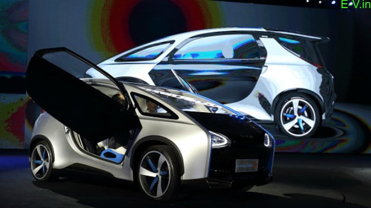 Hanergy Solar Powered Electric Car