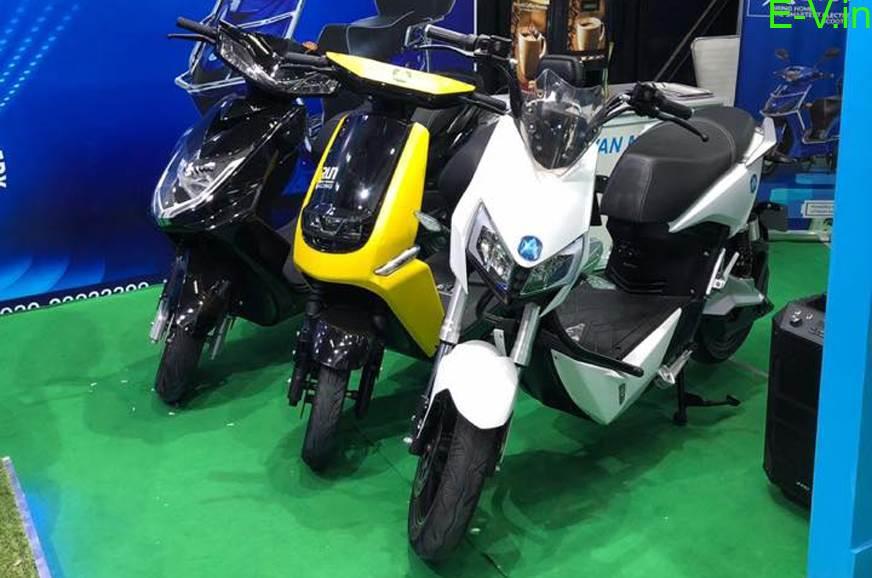 Avan Motors' New Electric Scooters