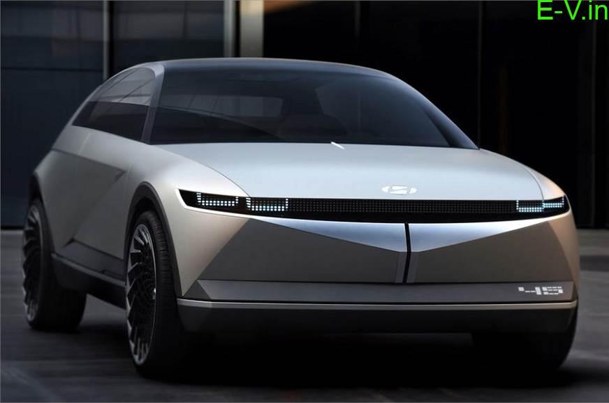 Hyundai 45 Electric Car