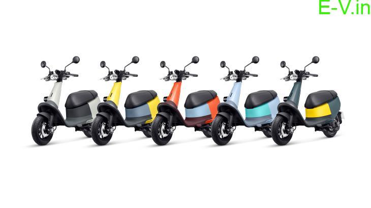 Gogoro electric ultralight smart scooter 'Viva'