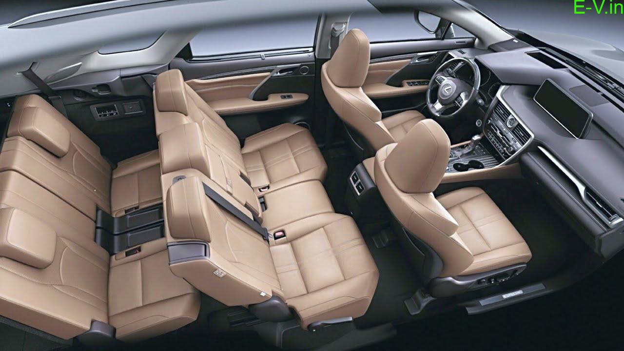 Lexus hybrid electric RX450hl SUV