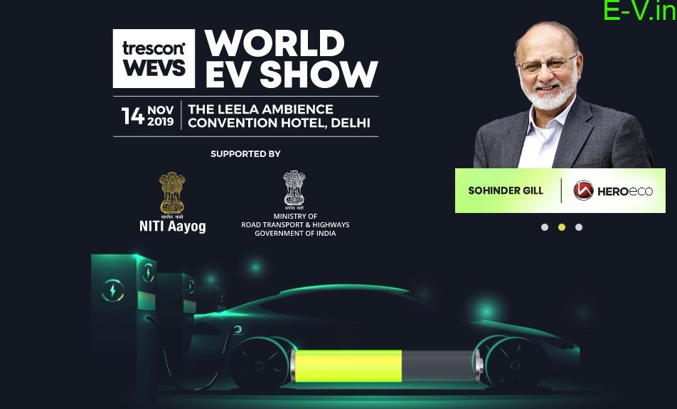 World EV Show 2019 at Delhi
