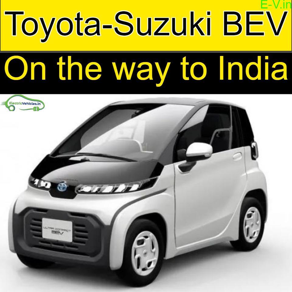 First Electric Vehicle under the Toyota-Suzuki partnership