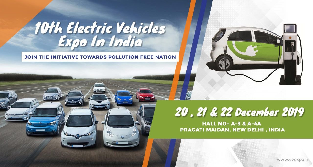 10th electric vehicles expo in India-2019
