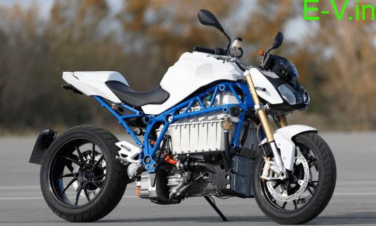 BMW unveils electric motorcycle prototype