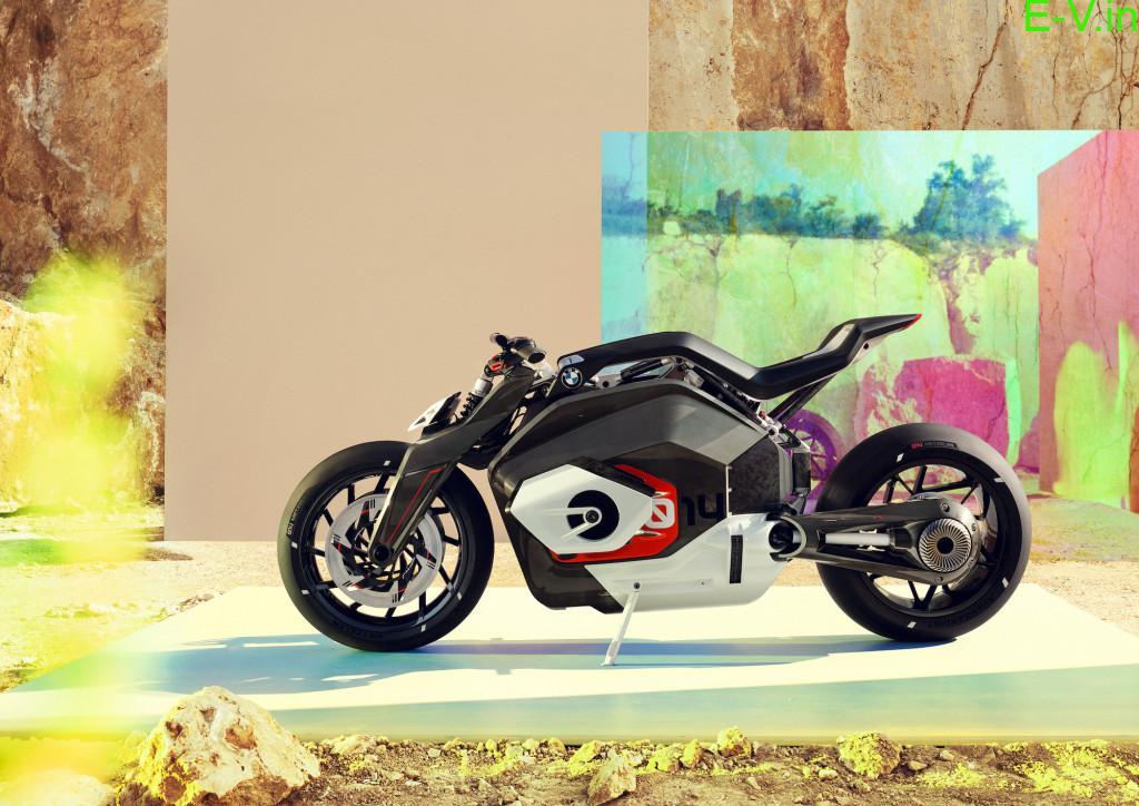 BMW working on a radical electric sport bike
