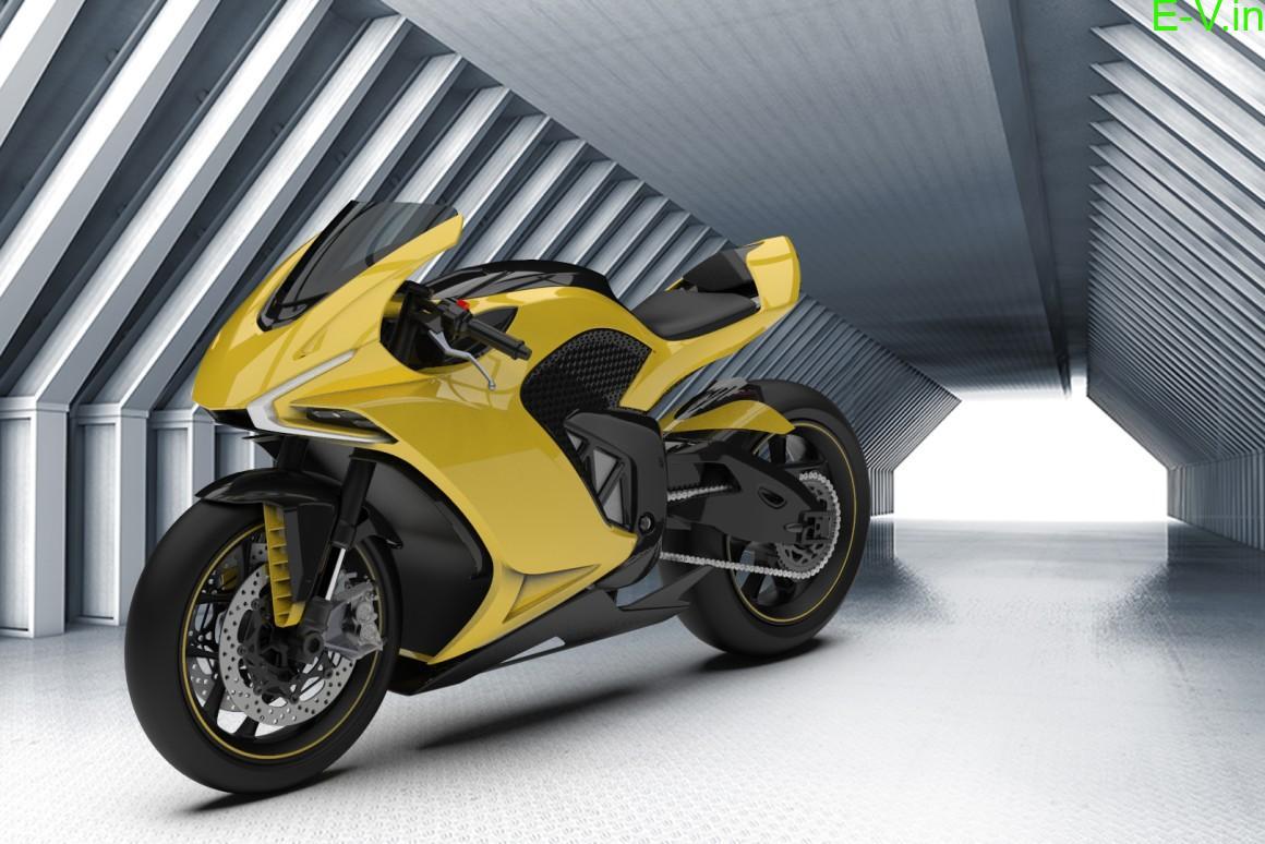 Damon hypersport shapeshifting electric motorcycle