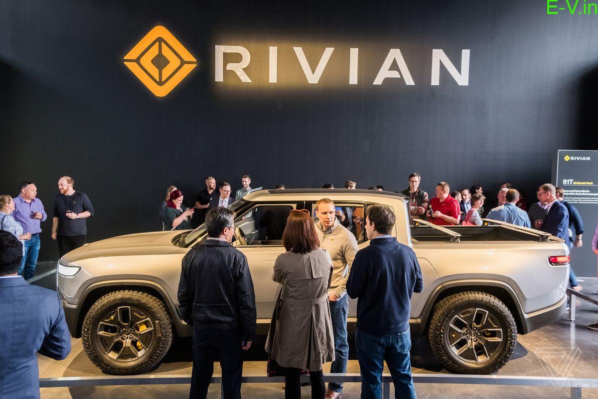 EV Startup Rivian raises $1.3 billion in new funding