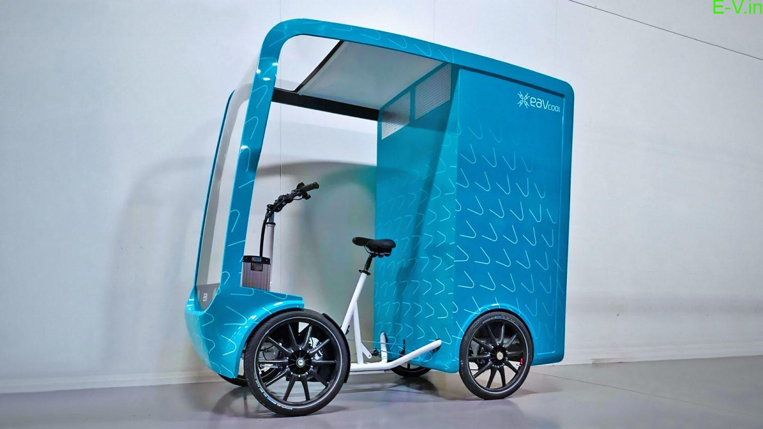 World's first eCargo bike
