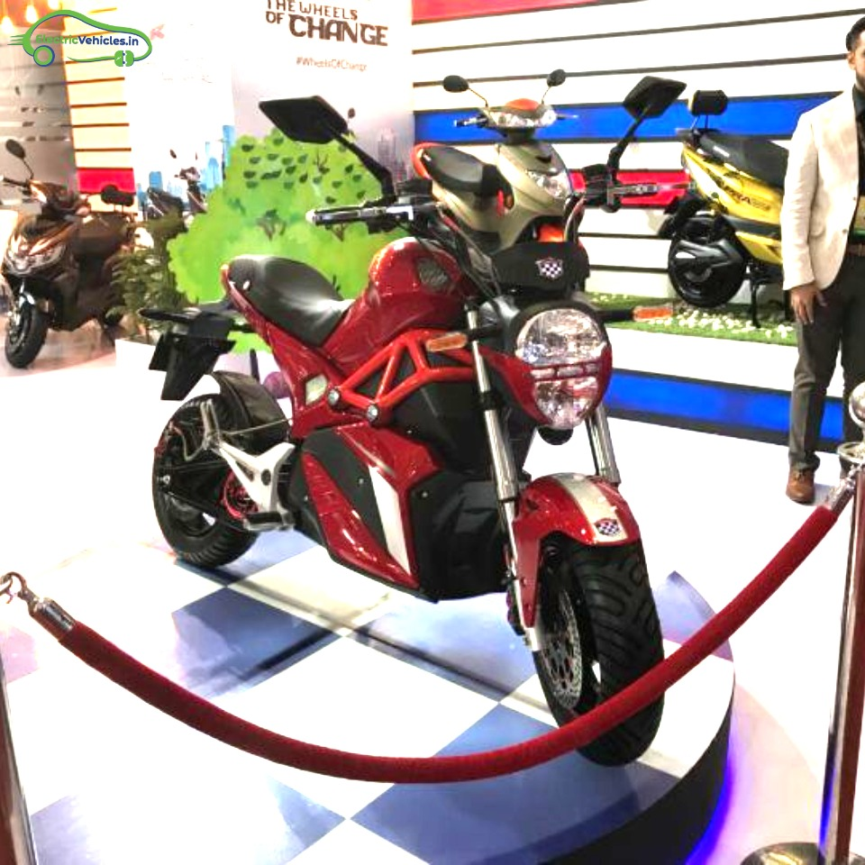 Okinawa Oki100 will be seen at Auto Expo 2020