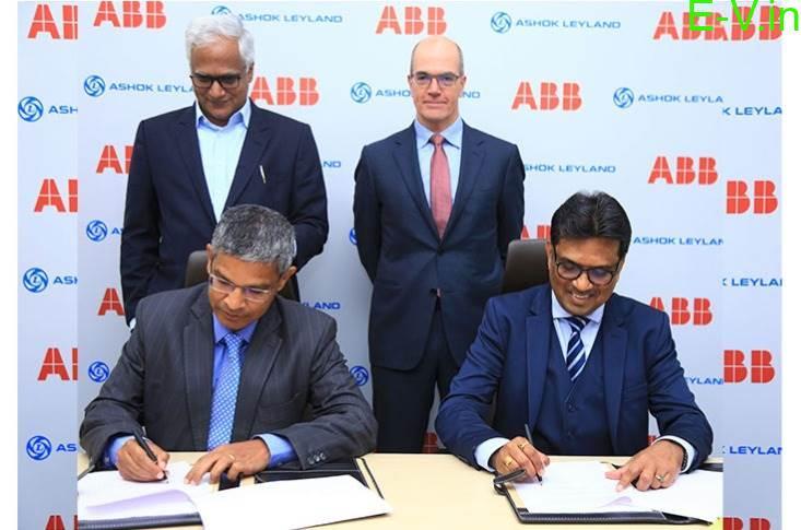 ABB Power & Ashok Leyland signed MoU