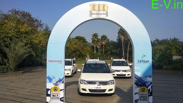 Mahindra supplies 1000 EVs