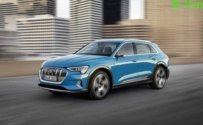 Audi electric SUV e-Tron