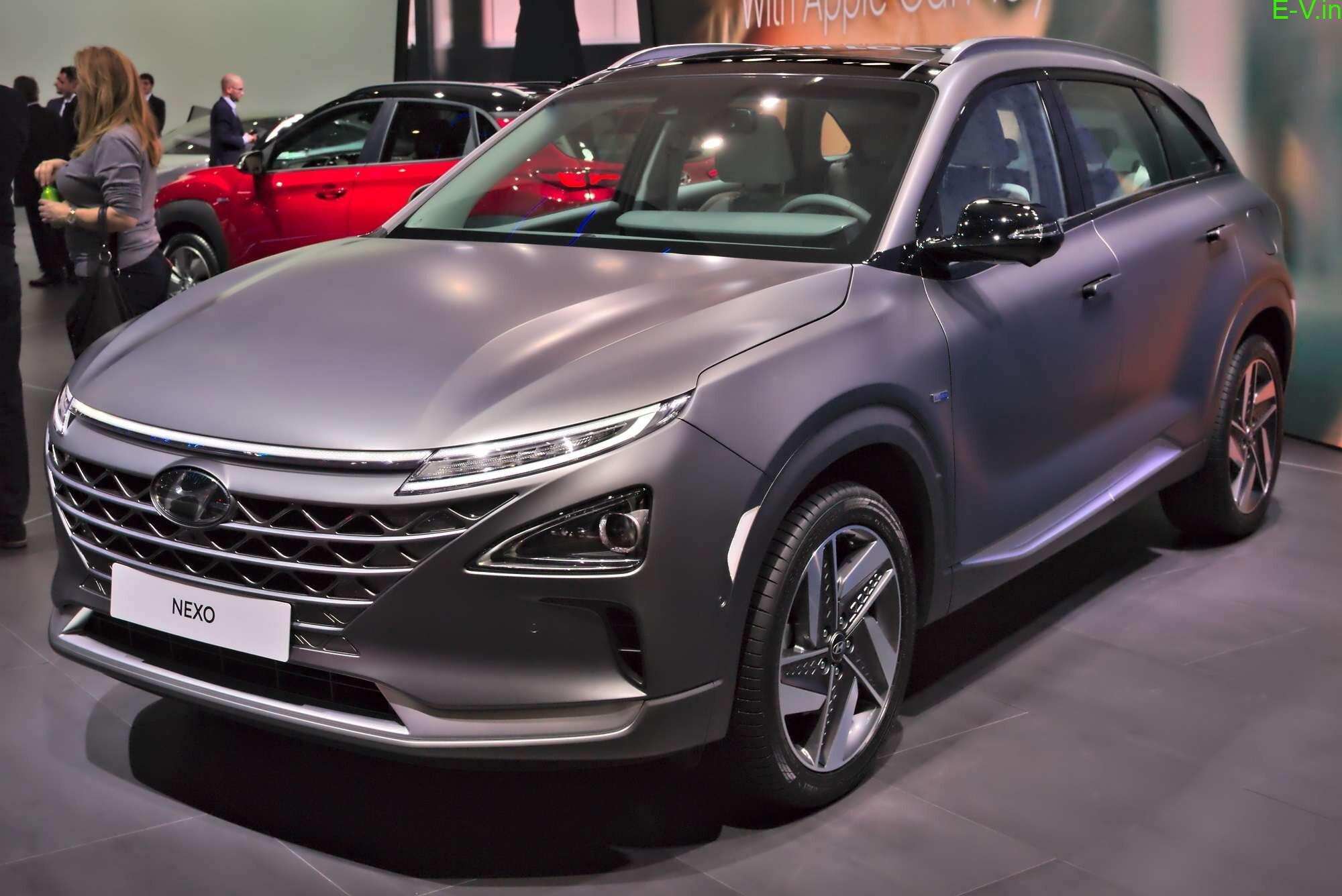 Hyundai Nexo FCEV to launch