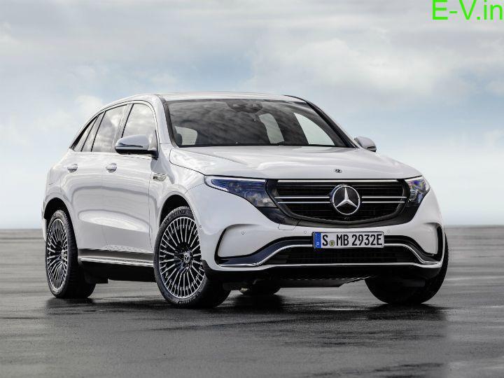 Mercedes Benz Electric SUV EQC