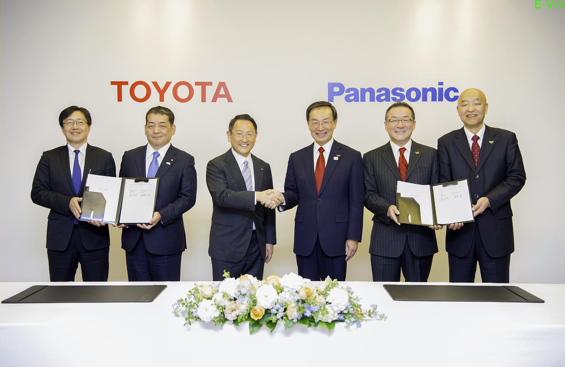 Toyota partners Panasonic