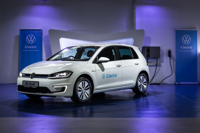 Volkswagen to launch e-Golf pilot project in South Africa