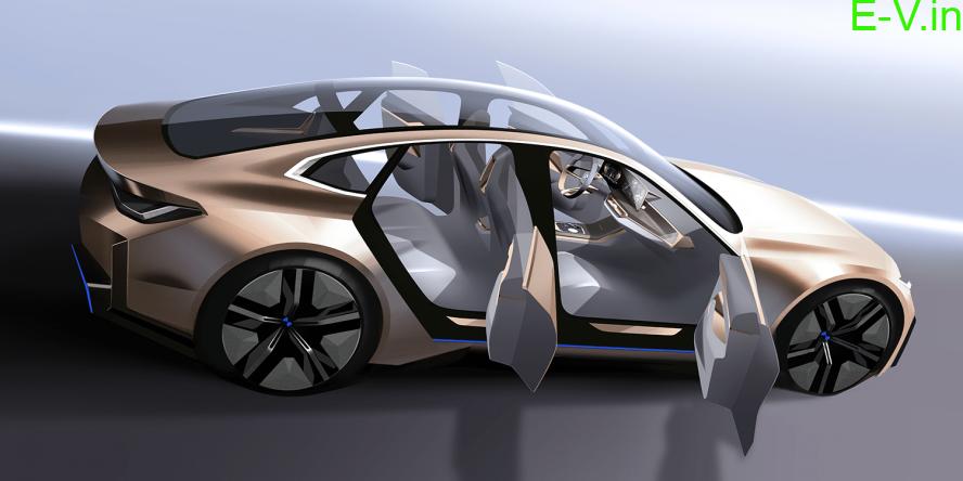 BMW electric concept i4 Sedan revealed