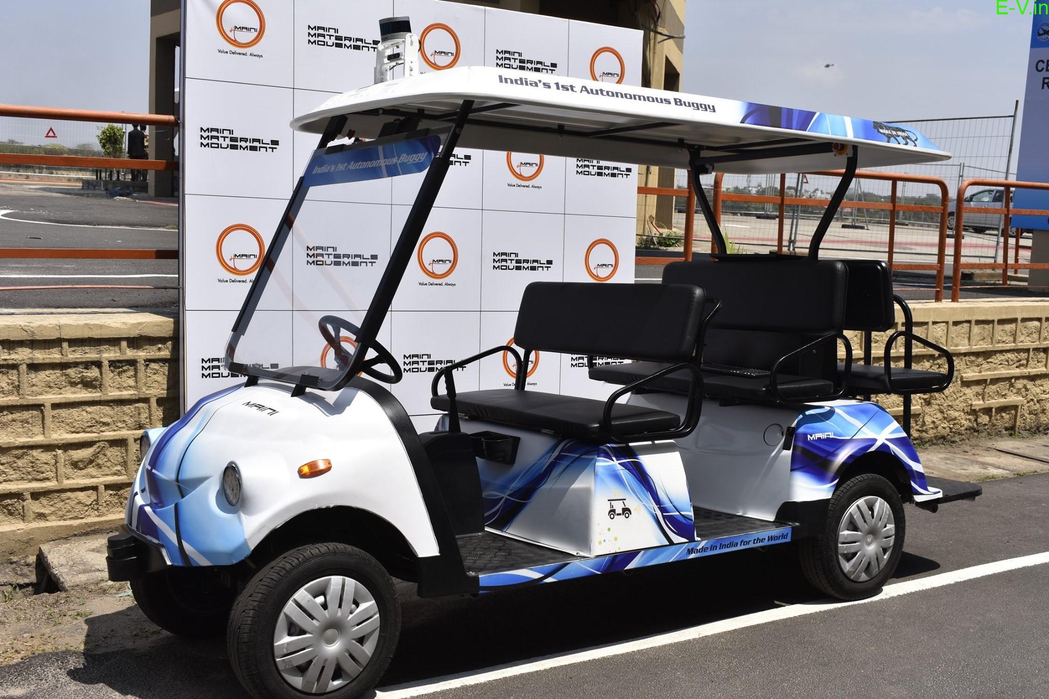 India's first autonomous buggy