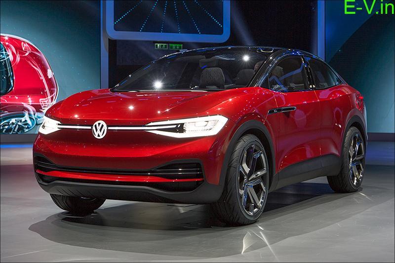 Volkswagen unveils concept EV ID. CROZZ for Indian market