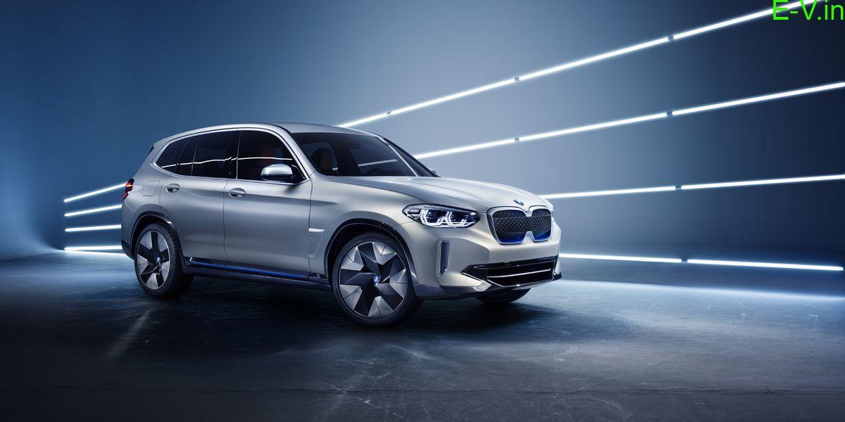 BMW first all-electric SUV iX3